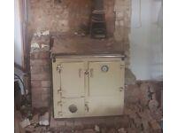 FREE Kitchen Stove - solid fuel wood burner
