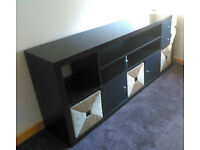TV unit - very unique, modified Ikea furniture, you won't find anything similar