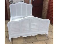 """""""House Of Fraser"""" King Size 'Chabby Chic' Bed Frame, New & Unused."""