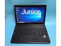 Acer HD Fast 4GB Ram, 250GB Laptop, Genuine Win 10, HDMI, Microsoft office,Excellent Condition
