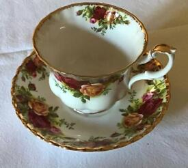 Old Country Roses vintage china