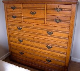 Genuine Antique Chest of Drawers 1870s-1880s approx