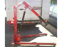 Blue Point engine hoist lift garage clearance