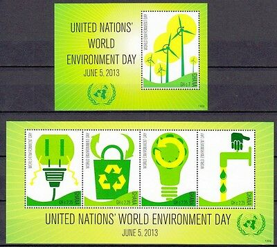 Ghana 2013 KB & Block ** MNH United Nations Umweltschutz Tag Environment Day