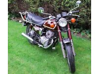 1980 Honda CD200 Benly, Kick & Electric Start, Running & Riding, Burgundy, Barn Find, Can Deliver