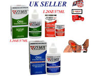 "Zymox Otic Enzymatic Solution Dogs/Cats Ear Treatment of acute Otitis 1.25oz ""UK SELLER"""