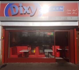 *Successful DIXIE CHICKEN Franchise for Sale in Kings Heath, Birmingham*