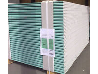 Plasterboard KNAUF | BRITISH GYP (9.5mm; 12.5mm) [6'x3' / 8'x4' - 900/1200*2400] FREE Delivery