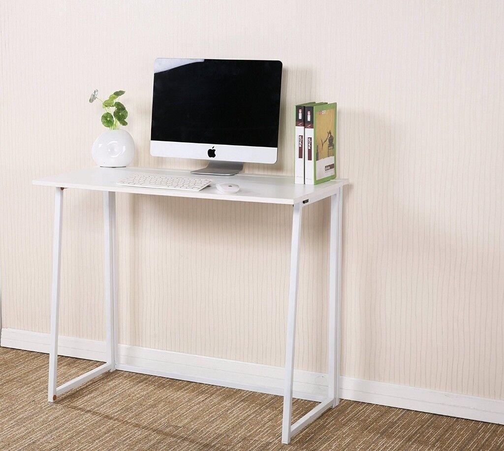 CherryTree Furniture Folding Computer Desk Home Office