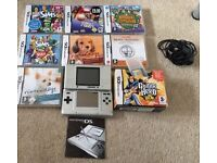 Nintendo DS Original with games and charger