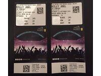 2 x Billy Joel Tcikets at Wembley Stadium 10/9/16