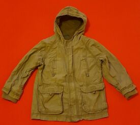 Cherokee hooded coat 18-24 months