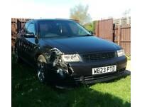 Breaking Audi A3 8L 1.8T in ebony black