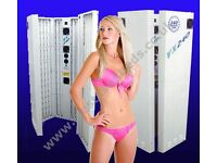 Brand New! VX240 Vertical Sunbed Top of the range 24 tube (240watt) FREE delivery to most of U.K.