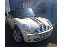 2006 MINI Convertible 1.6 Cooper Convertible, 3 Months Warranty, Full Dealer Service History, £2,295