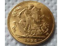 1925 Gold Sovereign