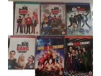 The Big Bang Theory - Seasons 1-6 - DVDs