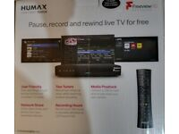 Freeview plus DVR 500GB Humax BRAND NEW