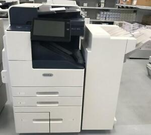 Only 1852 Pages Xerox Altalink B8055 Black and White Printer Copier 11x17 Copy Print Scan with 55PPM