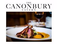 Excellent opportunity for a creative HEAD CHEF - 36K-38K at the Canonbury Tavern N1-