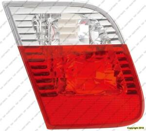 Trunk Lamp Driver Side (Back-Up Lamp) Clear/Red Lens Sedan High Quality BMW 3-Series (E46) 2002-2005