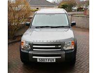 NOW SOLD 2007 Land Rover Discovery 3 - 1 YEAR MOT Lots spent. Service History.