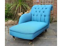 Brand New Hand Made Chaise Longue
