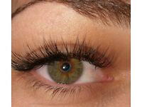 Individual and Volume lash extensions