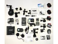 GoPro Hero 3+ Black & accessories