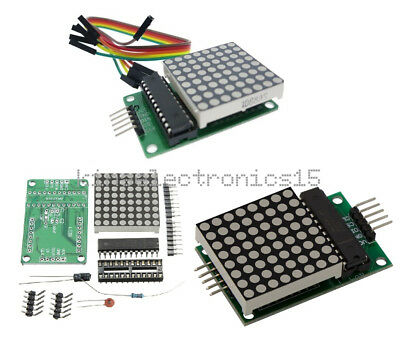 Max7219 Dot Led Matrix Module Mcu Control Led Display Modules For Arduino K9
