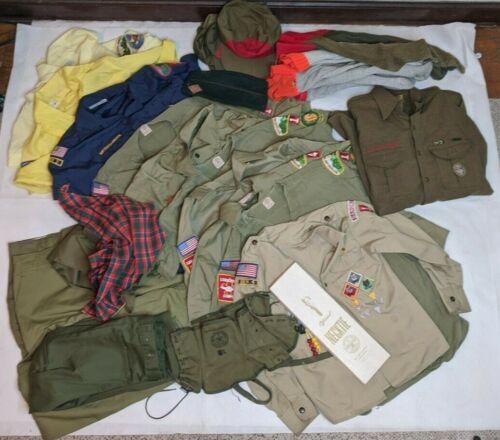 Vintage Boy Scouts Uniform Hat Pants Socks Lot - PA Greensburg 80s quartermaster