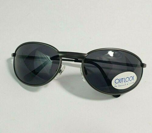 Vintage Outlook Eyewear By Bausch & Lomb Black Sunglasses Unworn New NOS