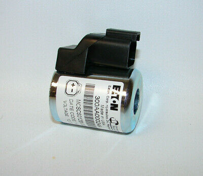 New Eaton Hydraulics 300aa00024a Solenoid Coil 12 Vdc Free Shipping