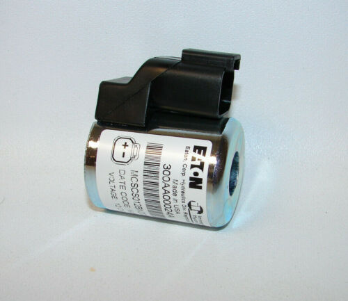 NEW Eaton Hydraulics 300AA00024A Solenoid Coil, 12 VDC  (FREE SHIPPING)