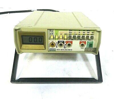 Fluke 8010a Digital Multimeter -free Shipping