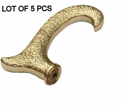 DESIGNER Handle Vintage Collectible Brass For Wooden Walking Stick LOT OF 5 PCS