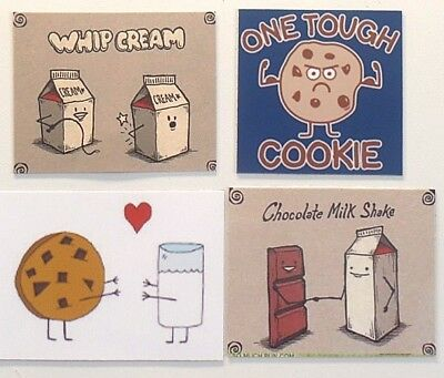 Chocolate Whip Cream - Whip Cream muscle tough cookie love milk chocolate milk shake food funny magnet