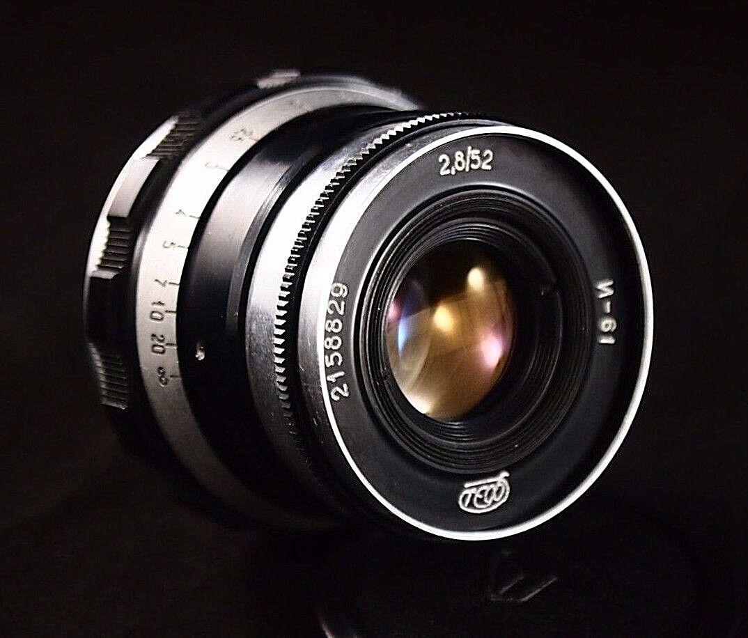 Цифровой фотоаппарат с советским объективом