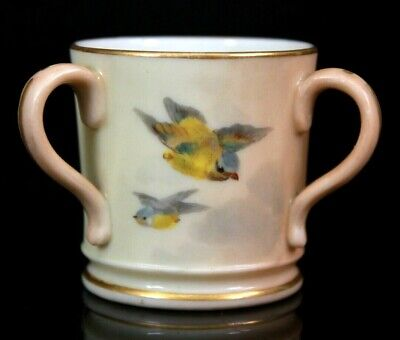 18th Century Gentleman Royal Worcester Porcelain ~ Figural Toothpick Holder Circa 1862 ~ Excellent Condition
