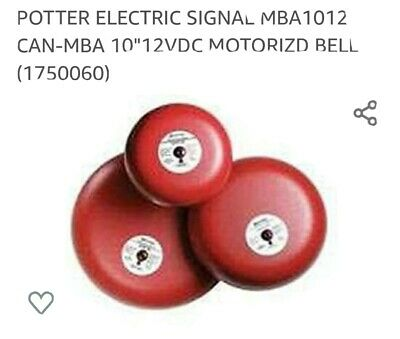 Potter Electric Mba 10-12 Bell