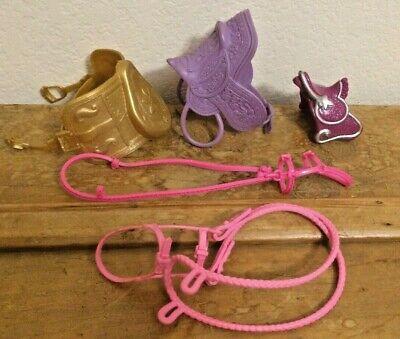 Barbie Horse Saddles and Bridles