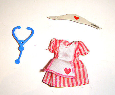 Kelly Doll Sized Outfits/Shoes Nurse Costume For Kelly Dolls ky001