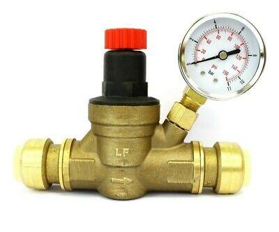 Water Pressure Regulator Valve 34 Inch Push Connection For Rv Trailer