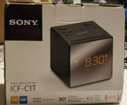 Sony ICF-C1T Alarm Clock Radio with Manual