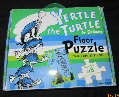 Yertle The Turtle By Dr. Seuss: Floor Puzzle: 48 Giant Puzzle Pieces
