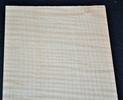 Curly Maple Raw Wood Veneer Sheets 6 X 32 Inches 142nd   7631-12