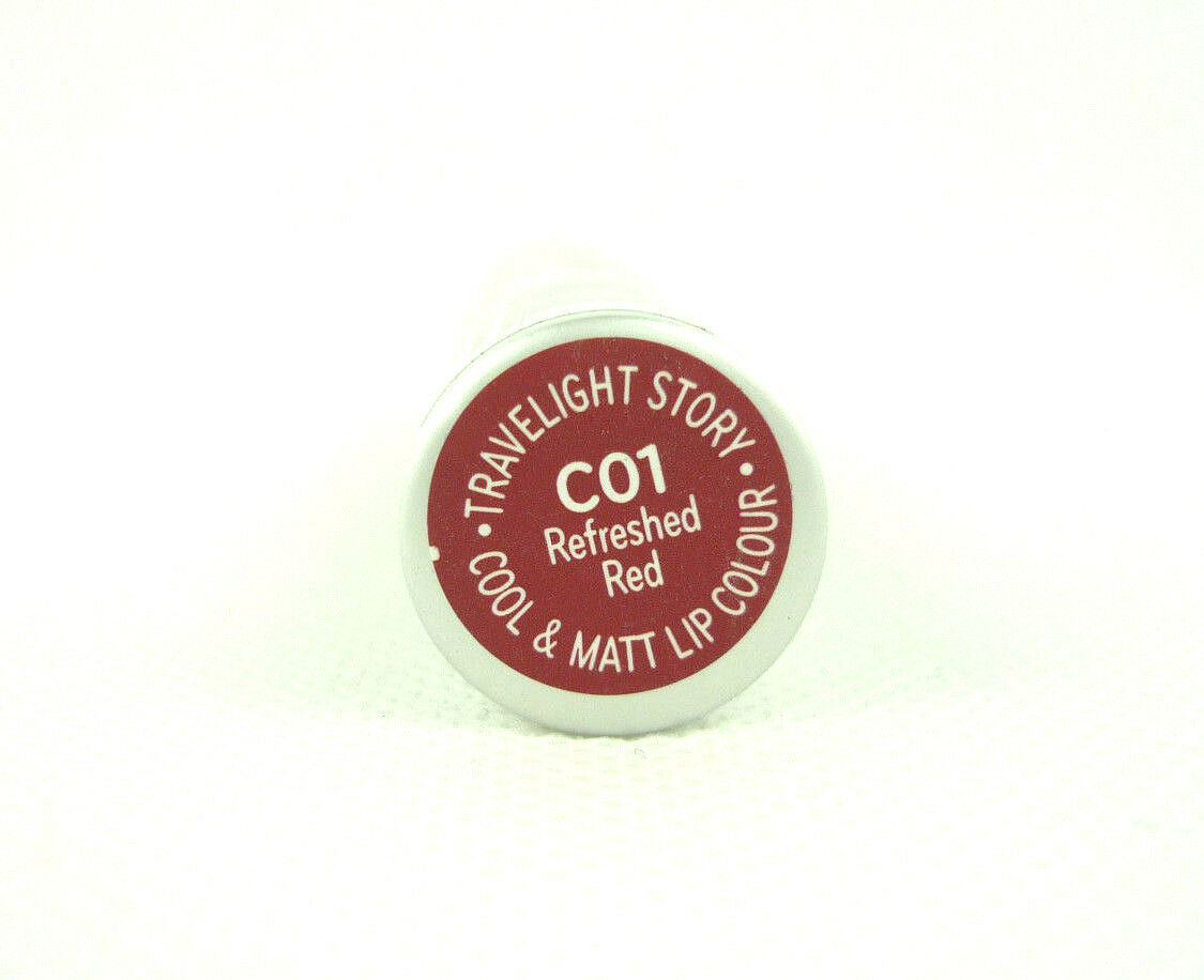 Catrice Cool & Matt Lip Colour Lippenstift Travelight Story C01 Refreshed Red