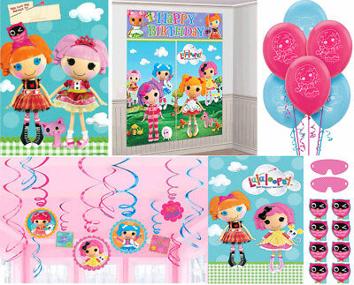 Lalaloopsy Birthday Party Supplies~Scene Setters,Swirls,Party Game,Latex Balloon](Lalaloopsy Party Supplies)
