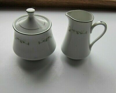 Sheffield Fine China Elegance Covered Sugar Bowl and Creamer Fine China Covered Sugar Bowl