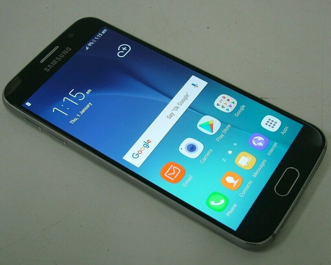 Android Phone - Samsung Galaxy S6 32GB Black Unlocked Android Smartphone SM-G920I - Bids From $1